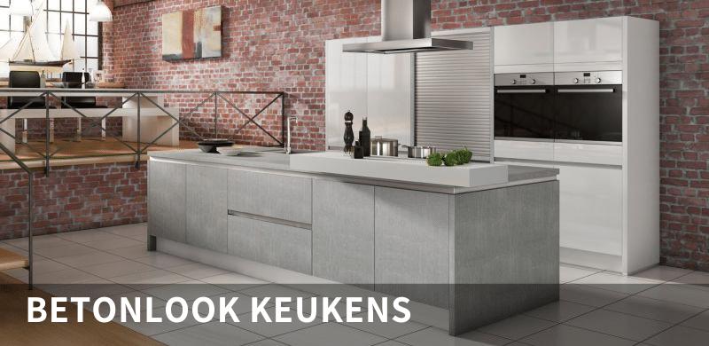 Betonlook keukens KuchenWelt