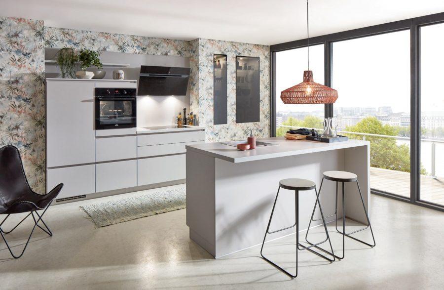 greeploze keuken met eiland ladbergen