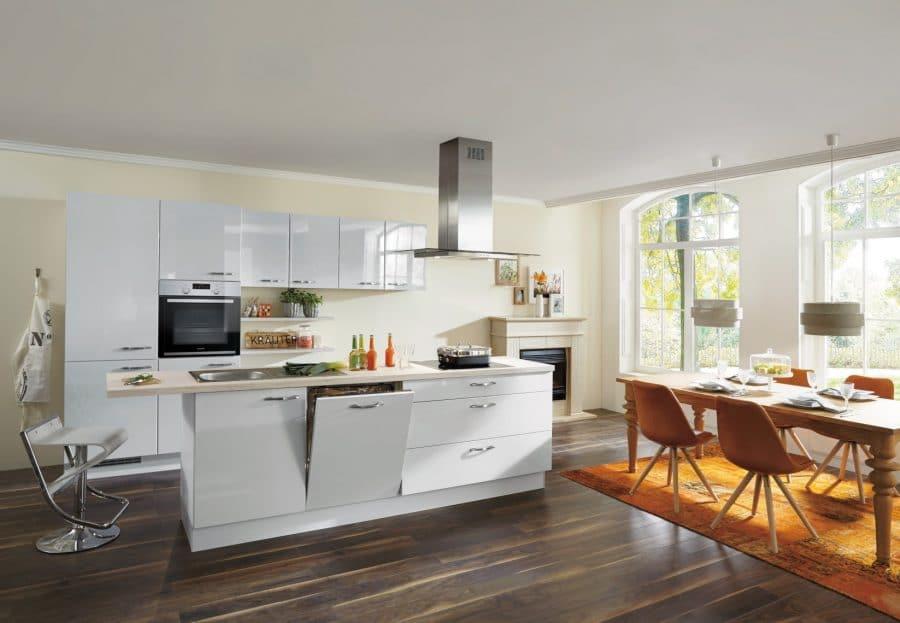 hoogglans keuken met eiland raesfeld