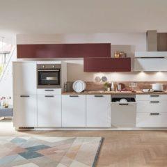 witte rechte keuken schoppingen