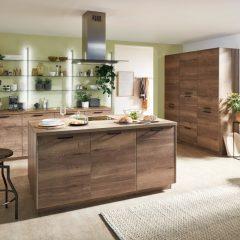 houten keuken met eiland schwalmtal