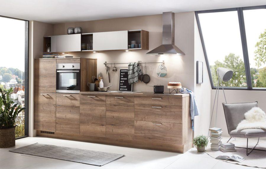 rechte kleine houten keuken sonsbeck