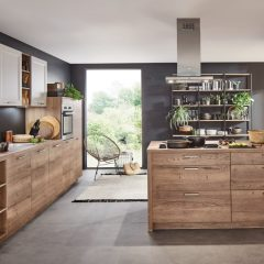 houten keuken met eiland stadtlohn