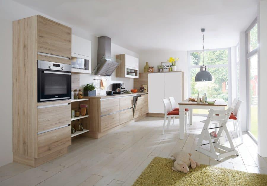greeploze houten keuken wagenfeld