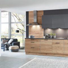 houten keuken met kastenwand Werlte
