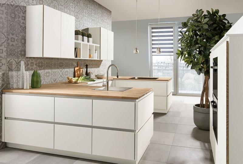 moderne keuken greeploos