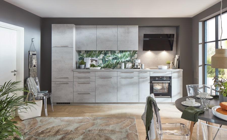 Rechte betonlook keuken