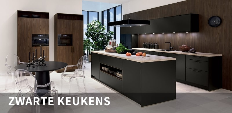 zwarte keukens kuchenwelt